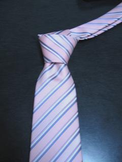 バレンタインで貰ったネクタイ